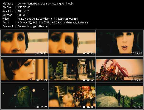 Rex Mundi Feat. Susana video screenshot
