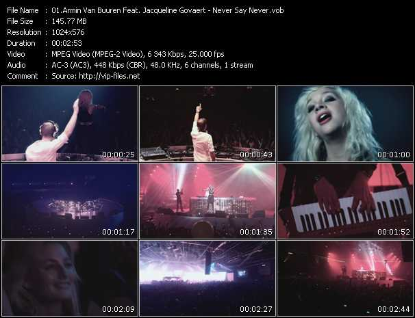 Armin Van Buuren Feat. Jacqueline Govaert video screenshot