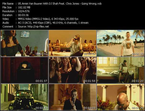 Armin Van Buuren With DJ Shah Feat. Chris Jones video screenshot