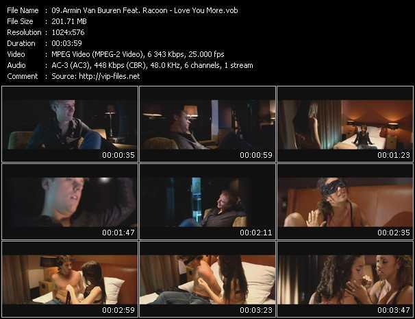Armin Van Buuren Feat. Racoon video screenshot