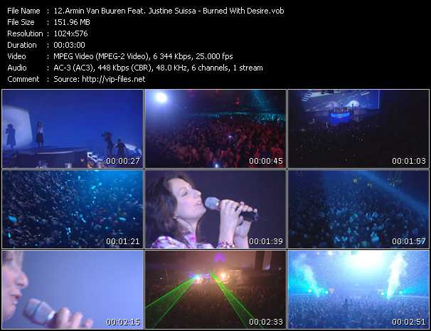 Armin Van Buuren Feat. Justine Suissa video screenshot