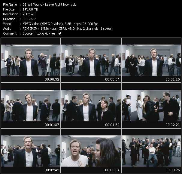 Will Young video screenshot