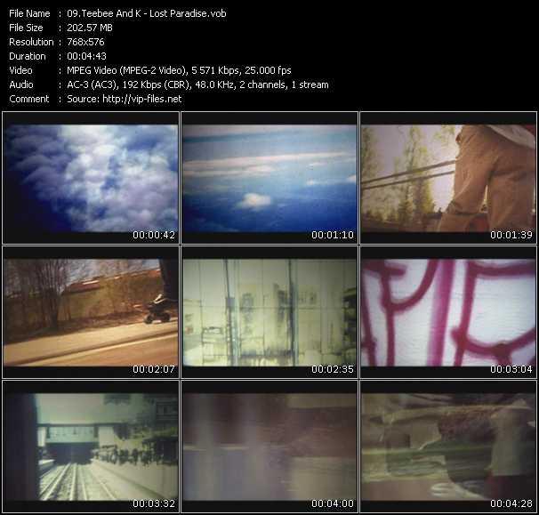 Teebee And K video screenshot