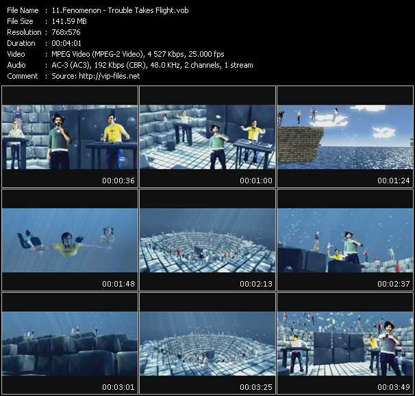 Fenomenon video screenshot