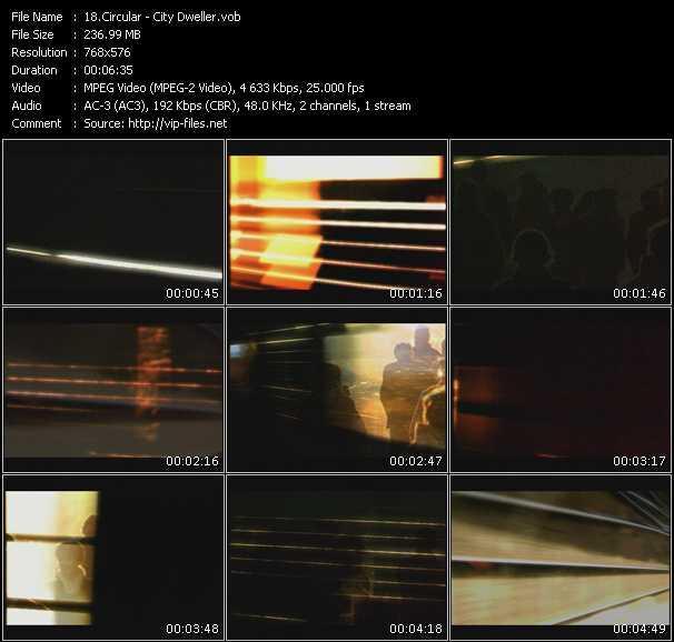 Circular video screenshot