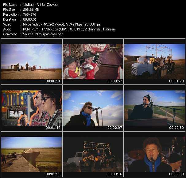 Bap video screenshot