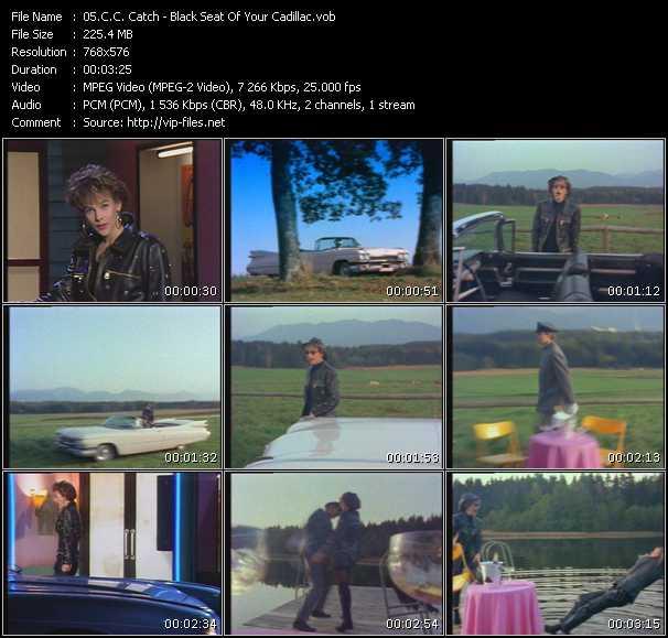 C.C. Catch video screenshot