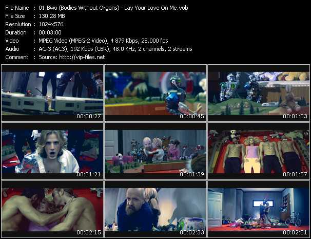 video Lay Your Love On Me screen