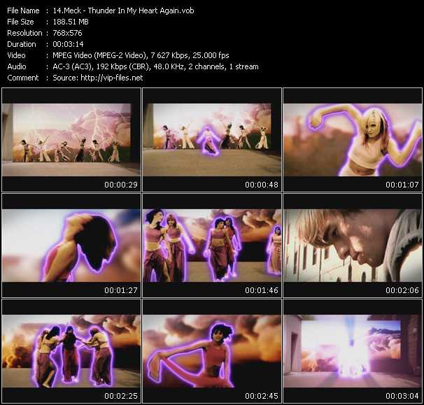 video Thunder In My Heart Again screen