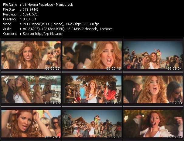 Helena Paparizou video screenshot