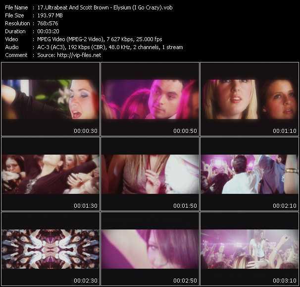Ultrabeat And Scott Brown video screenshot