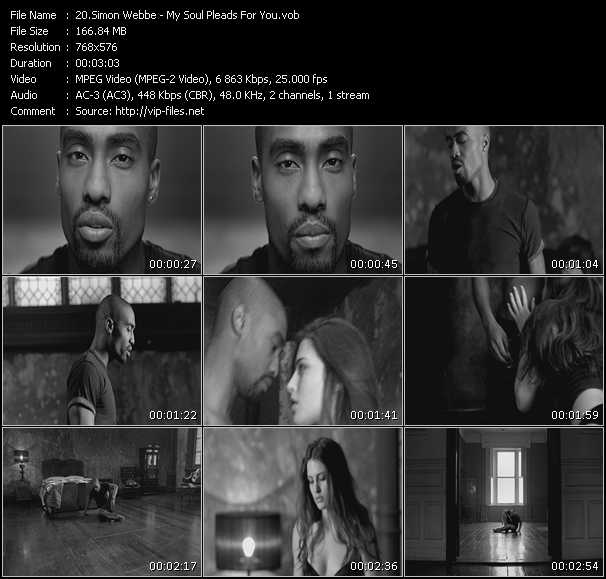 Simon Webbe video screenshot