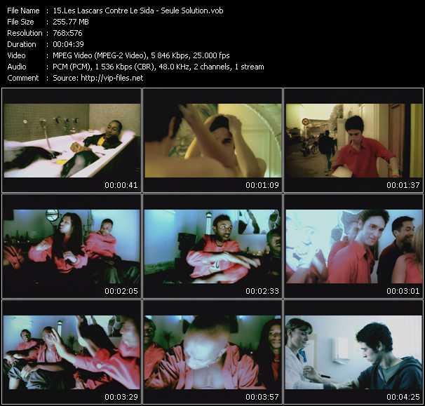 Les Lascars Contre Le Sida video screenshot