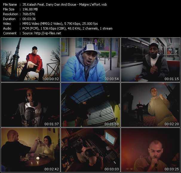 Kalash Feat. Dany Dan And Ekoue video screenshot
