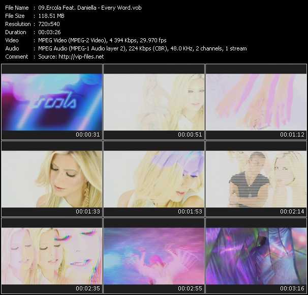 Ercola Feat. Daniella video screenshot