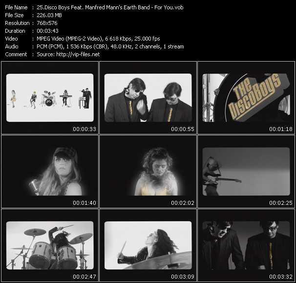Disco Boys Feat. Manfred Mann's Earth Band video screenshot