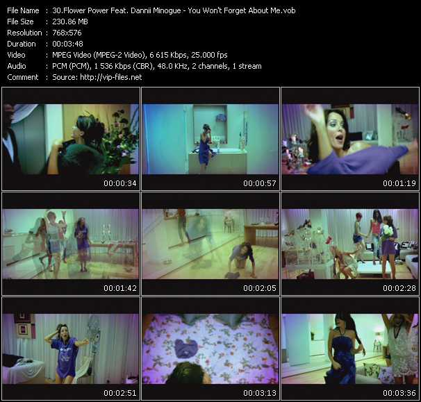 Flower Power Feat. Dannii Minogue video screenshot