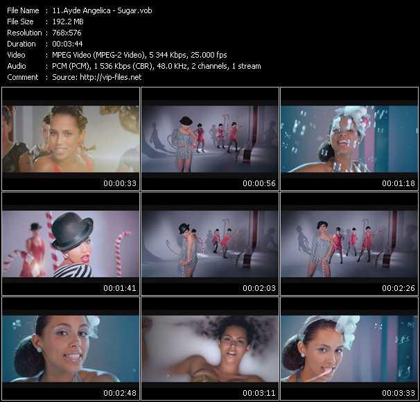 Ayde Angelica video screenshot