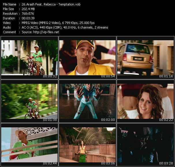 Arash Feat. Rebecca video screenshot