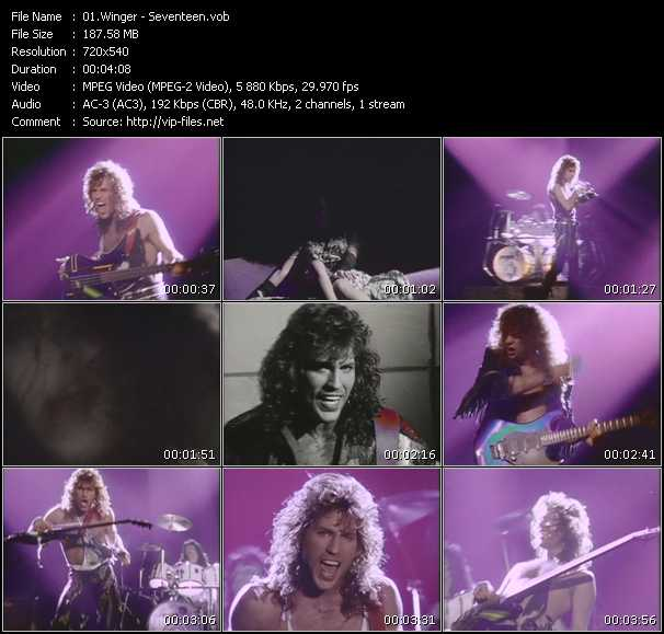 Winger video screenshot