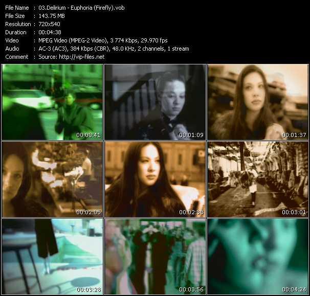 Delirium video screenshot