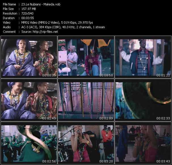 Le Nubians video screenshot
