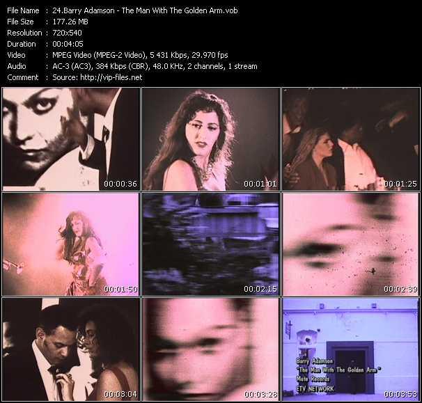 Barry Adamson video screenshot