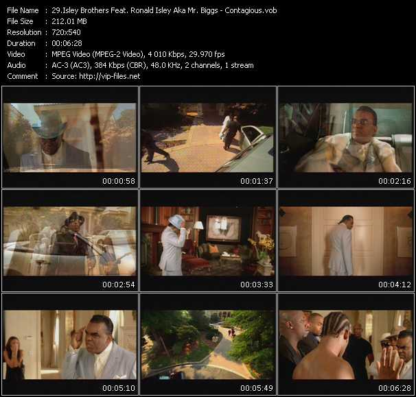 Isley Brothers Feat. Ronald Isley Aka Mr. Biggs video screenshot