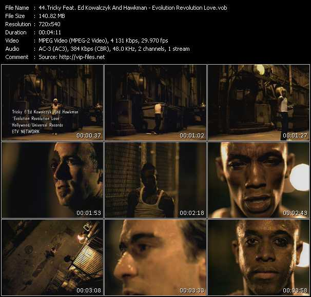 Tricky Feat. Ed Kowalczyk And Hawkman video screenshot