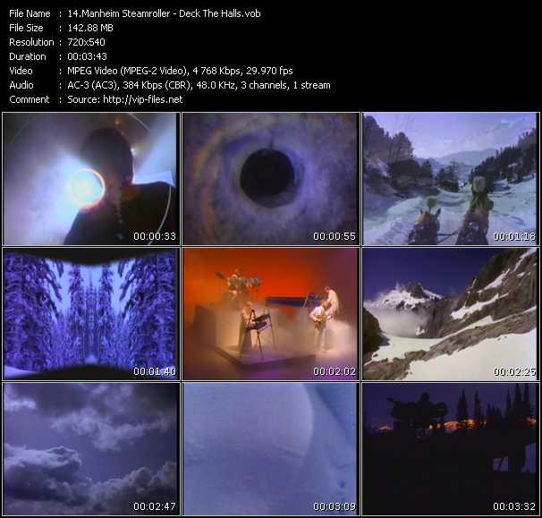 Manheim Steamroller video screenshot