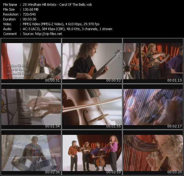 Windham Hill Artists video screenshot
