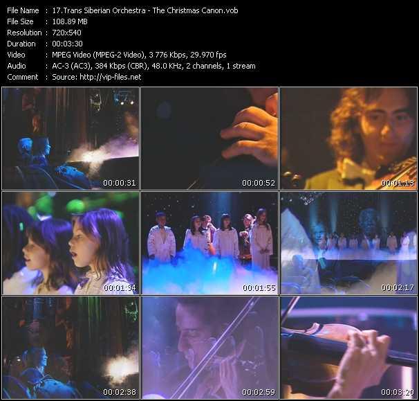 Trans Siberian Orchestra video screenshot