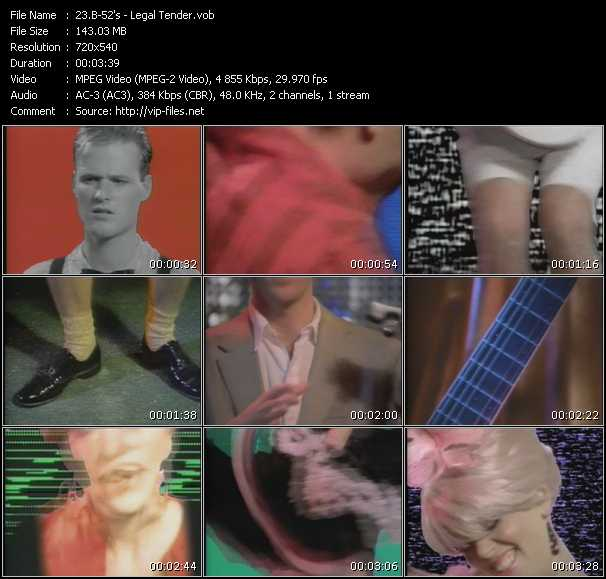 B-52's video screenshot