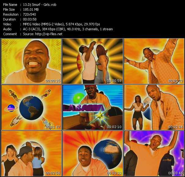 Dj Smurf video screenshot