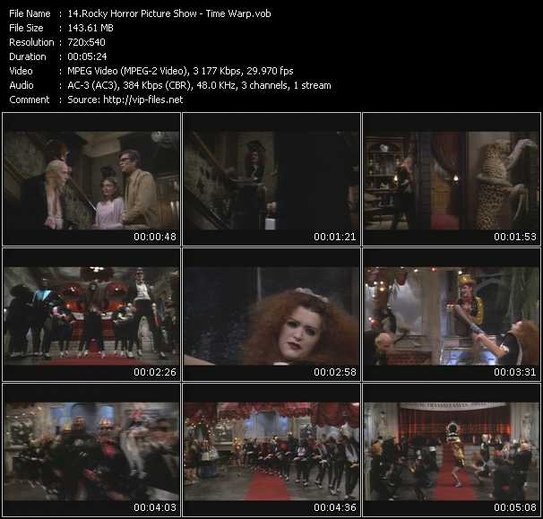 Rocky Horror Picture Show video screenshot