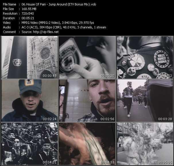 video Jump Around (ETV Bonus Mix) screen