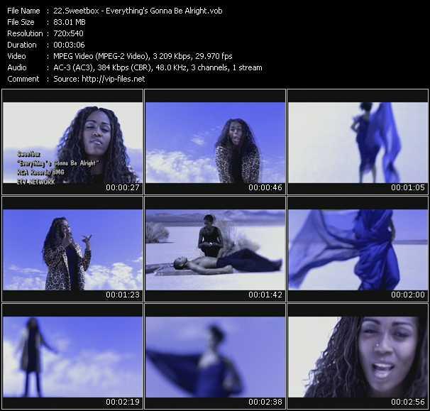 Sweetbox video screenshot