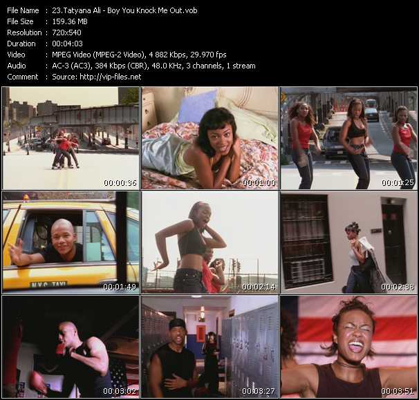 Tatyana Ali video screenshot