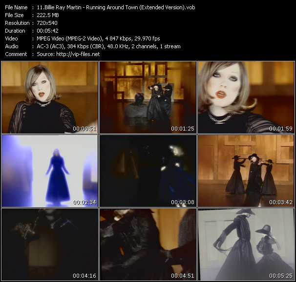 Billie Ray Martin video screenshot