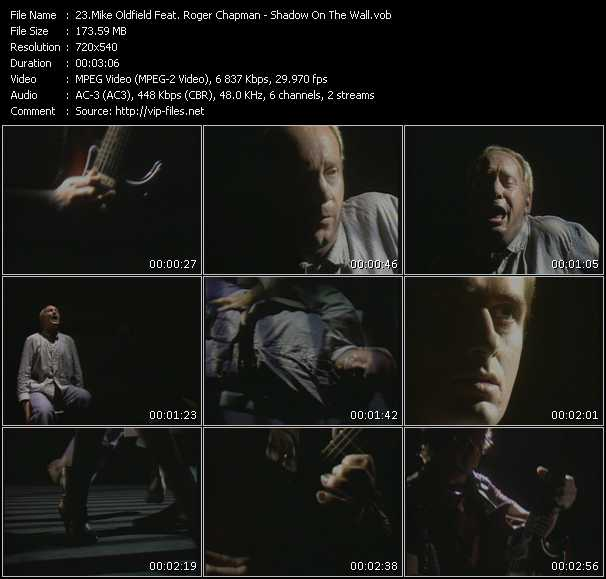 Mike Oldfield Feat. Roger Chapman video screenshot
