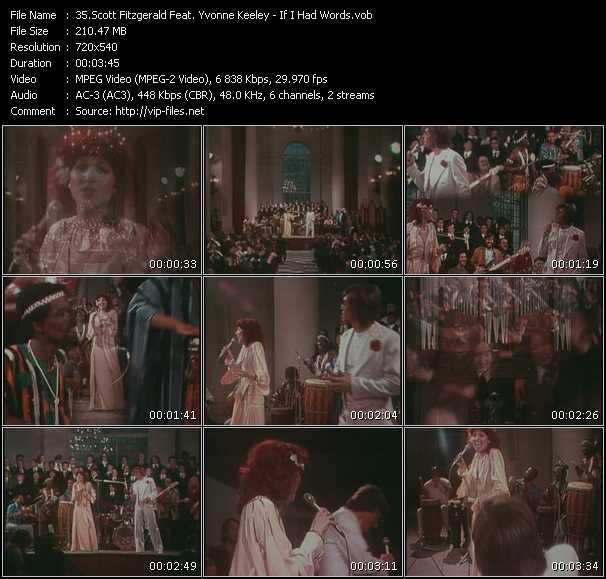 Scott Fitzgerald Feat. Yvonne Keeley video screenshot