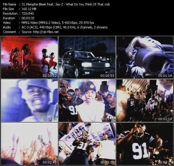 Memphis Bleek Feat. Jay-Z video screenshot
