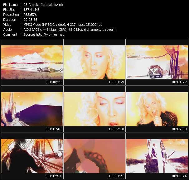 Anouk video screenshot