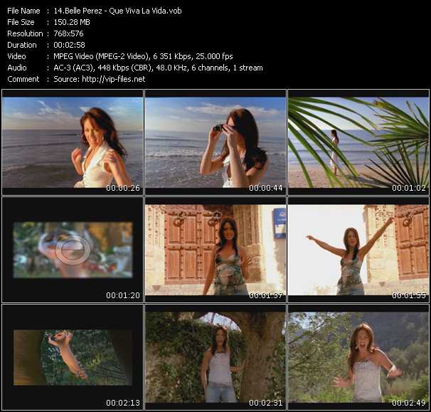 Belle Perez video screenshot
