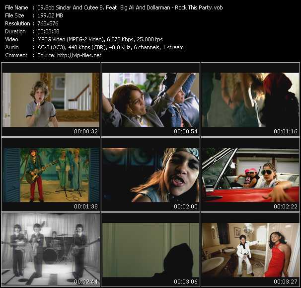 Bob Sinclar And Cutee B Feat. Dollarman, Big Ali And Makedah video screenshot