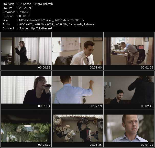 Keane video screenshot