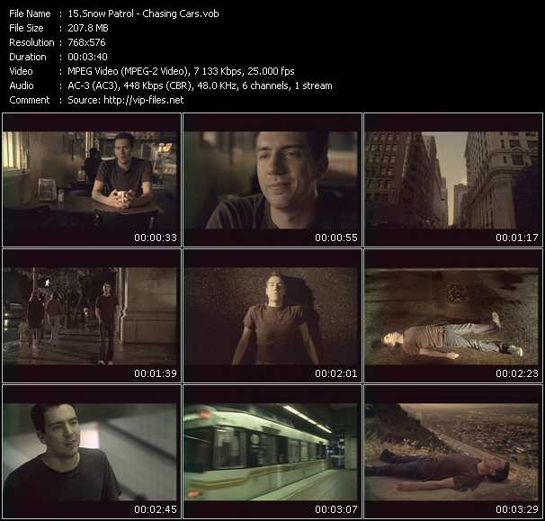 Snow Patrol video screenshot