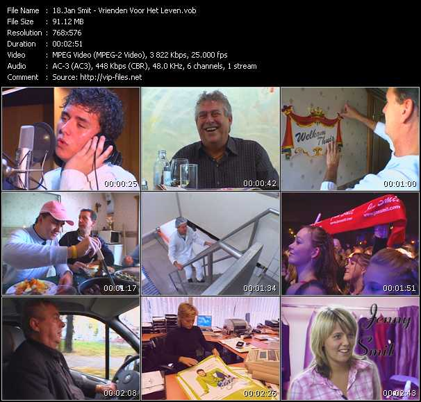 Jan Smit video screenshot