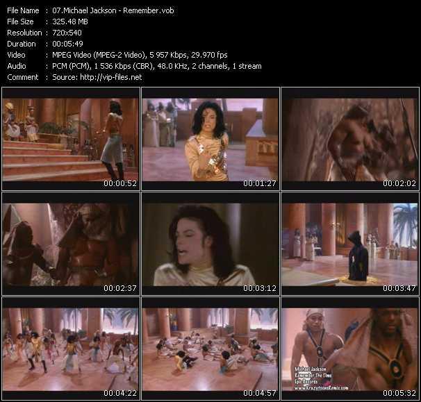 video Remember (Krazytoons Remix) screen