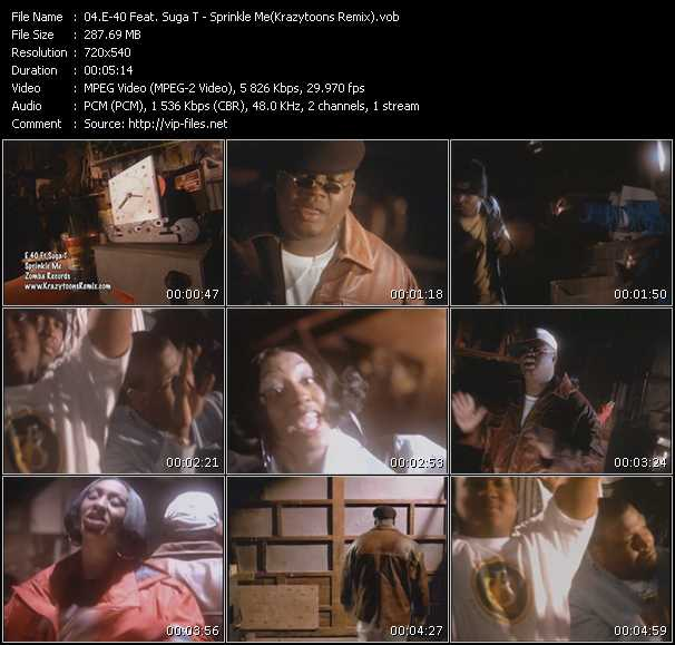E-40 Feat. Suga T video screenshot
